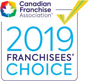 Canadian franchise choice award 2019